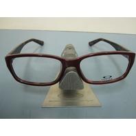 OAKLEY womens ENTRY FEE pink tortoise RX eyeglass frame OX1072-0352 NEW w/O case