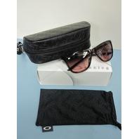 OAKLEY womens Reverie Sunglass Amethyst/G40 Black Gradient OO9362-0255 New w/Box
