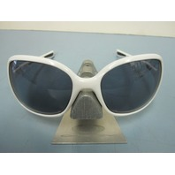 OAKLEY womens Obsessed Sunglass Polished White/Grey OO9192-02 New In Case
