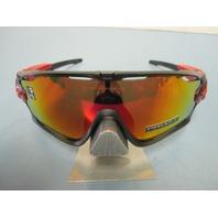 OAKLEY sunglass Jawbreaker Ruby Fade/Prizm Ruby OO9290-2331 Cycling New in bag