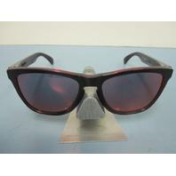 OAKLEY Frogskins Sunglasses Eclipse Red w/Torch Iridium OO9013-A7 New In Baggy