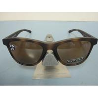 OAKLEY women Moonlighter Sunglass Tortoise/Prizm Tungsten Polarized OO9320-17 New