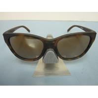 OAKLEY women Hold Out Sunglass Tortoise/Tungsten Iridium OO9357-0355 New In Case