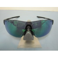 OAKLEY mens EVZero Pitch Sunglass Steel/Jade Iridium OO9383-0338 NEW in baggy