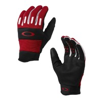 OAKLEY Mountain Bike BMX  Factory Glove 2.0 mens LG Red Line New w/tags