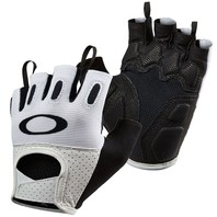 OAKLEY Mountain Bike Cycling Factory Road Glove 2.0 mens LG White New w/tags