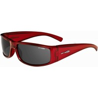 ARNETTE surf Full House XL Sunglass Transluscent Red/Grey AN4132-07 New In Case