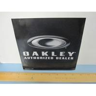 OAKLEY 2007 Authorized Dealer 2 sided Window Door Vinyl sticker New Old Stock