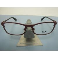 OAKLEY womens MARTYR garnet OX5083-0450 RX eyeglass frame NEW in OAKLEY case