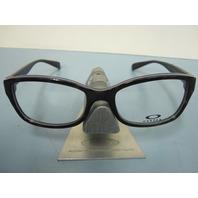 OAKLEY womens JUNKET tortoise dusk OX1087-0352 RX eyeglass frame NEW in O case