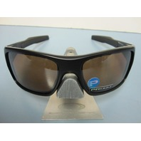 OAKLEY men Turbine Sunglass Matte Black/Prizm Tungsten Polarized OO9263-4063 New
