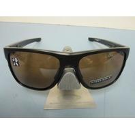 OAKLEY sunglass Crossrange XL Black/Prizm Tungsten Polarized OO9360-0558 New