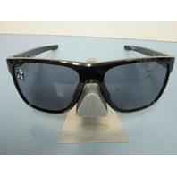 OAKLEY mens Crossrange XLsunglass Polished Black/Grey OO9360-0158 New In Bag