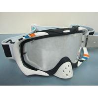 Oakley Crowbar Pro Mx Goggle Troy Lee Designs Corse White/Ice Iridium OO7025-43