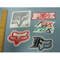 FOX surf snowboard skateboard BMX promo Big 5 sticker set NEW old stock Flawless