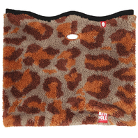 Airhole 2018 Snowboard Airtube Cinch Fur Facemask Leopard M/L New in Package