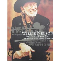 WILLIE NELSON 2006 You Don't Know Me promotional poster Flawless NEW old stock