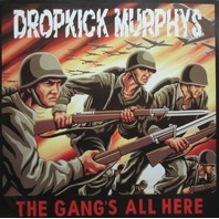 Dropkick Murphys 2005 Gangs All Here promotional poster VG+ New old stock