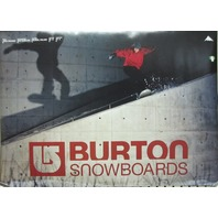 BURTON snowboard 2003 Jussi Oksanen promotional poster Flawless New Old Stock