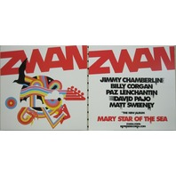 ZWAN 2003 Mary Star Of Sea 2 sided promo poster/flat New Old Stock Billy Corgan