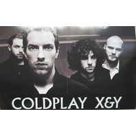 COLDPLAY 2005 X&Y Capitol Records 2 sided promo poster New Old Stock
