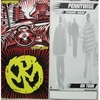 Pennywise 2004 Straight Ahead Big 2 sided Epitaph promo poster New Old Stock