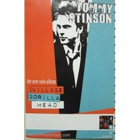 Tommy Stinson 2004 Village Gorilla Head promo poster New Old Stock Replacements