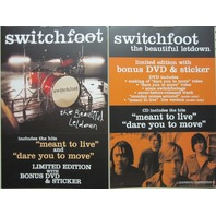 Switchfoot 2004 Letdown Columbia Records 2 sided promo poster New Old Stock