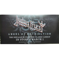 Judas Priest 2005 Retribution Epic promotional poster Flawless New old stock