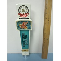 Ballast Point Unfiltered Sculpin IPA Beer Tap Handle San Diego California