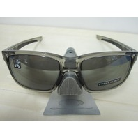 OAKLEY mens Mainlink Grey Ink/Prizm Black Iridium OO9264-3157 New In Box