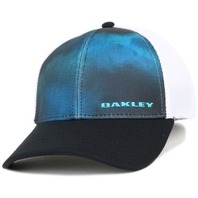 OAKLEY ski snowboard surf GOLF Silicon Bark Trucker 4.0 Hat LG/XL NEW w/tags