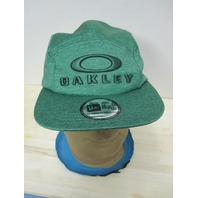 Oakley 3D ICON 5 Panel Hat Green 1 Size Fits All NEW ERA Strapback