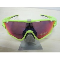 OAKLEY mens JAWBREAKER Sunglass Retina Burn/Prizm Road OO9290-2631 cycling NEW