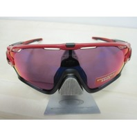 OAKLEY mens JAWBREAKER Sunglass Red Line/Prizm Road OO9290-2431 cycling NEW