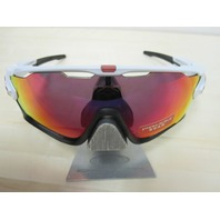 OAKLEY mens JAWBREAKER Sunglass White/Prizm Road OO9290-05 cycling NEW In Box 2