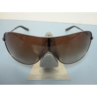 OAKLEY womens COLLECTED sunglass Chocolate/Brown Gradient OO4078-04 NEW in Case