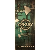 Oakley 2013 Heritage Limited Edition Collectors Metal Pin Authentic Razor Blades