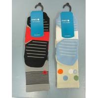 STANCE Golf Funfetti & Scratch Quarter Socks mens LG/XL 2 Pair New In Package