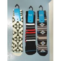 STANCE Golf Jesper,Par 4 & Olgy Classic Socks mens LG/XL 3 Pair New In Package