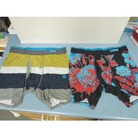 STANCE Mens Boxer Briefs Shorts Underwear Medium (32-34) 2 Pairs New Never Worn