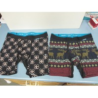 STANCE Mens Wholester Boxer Shorts Underwear Med (32-34) 2 Pairs New Never Worn