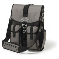 OAKLEY Dry Goods Vertical Travel Bag 92657 Grigio Scuro New With Tags Free Ship