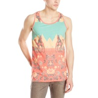 NEFF surf snowboard skateboard World Traveler Tank Top mens LG New with tag