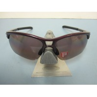 OAKLEY womens RPM Edge Sunglass Raspberry/OO Grey Polarized OO9257-07 New Golf
