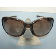OAKLEY womens Urgency Sunglass Tortoise/Dark Brown Gradient OO9158-08 New In Box