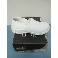 DANSKO womens shoe Caitlin WHITE BOX EU42/US12 NEW in box 4042010100
