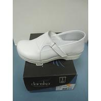 DANSKO womens shoe PITA BOX WHITE EU41/US11 NEW in box 695010101