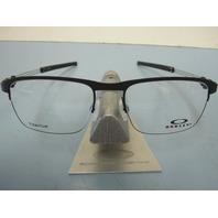 OAKLEY mens Truss Rod 0.5 RX eyeglass frame Coal OX5123-0152 NEW In Box/Case