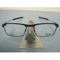 OAKLEY mens Truss Rod RX eyeglass frame Satin Black OX5124-0153 NEW In Box/Case